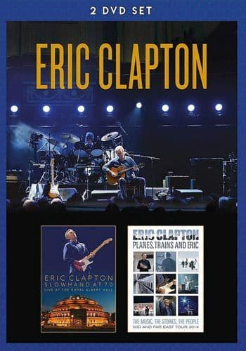 Eric Clapton<br>Slowhand At 70 & Planes, Trains And Eric <br>2DVD